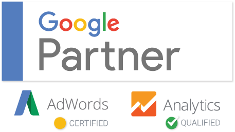 WebFuel is a trusted Google Partner. Google AdWords Certified. Google Analytics Qualified.